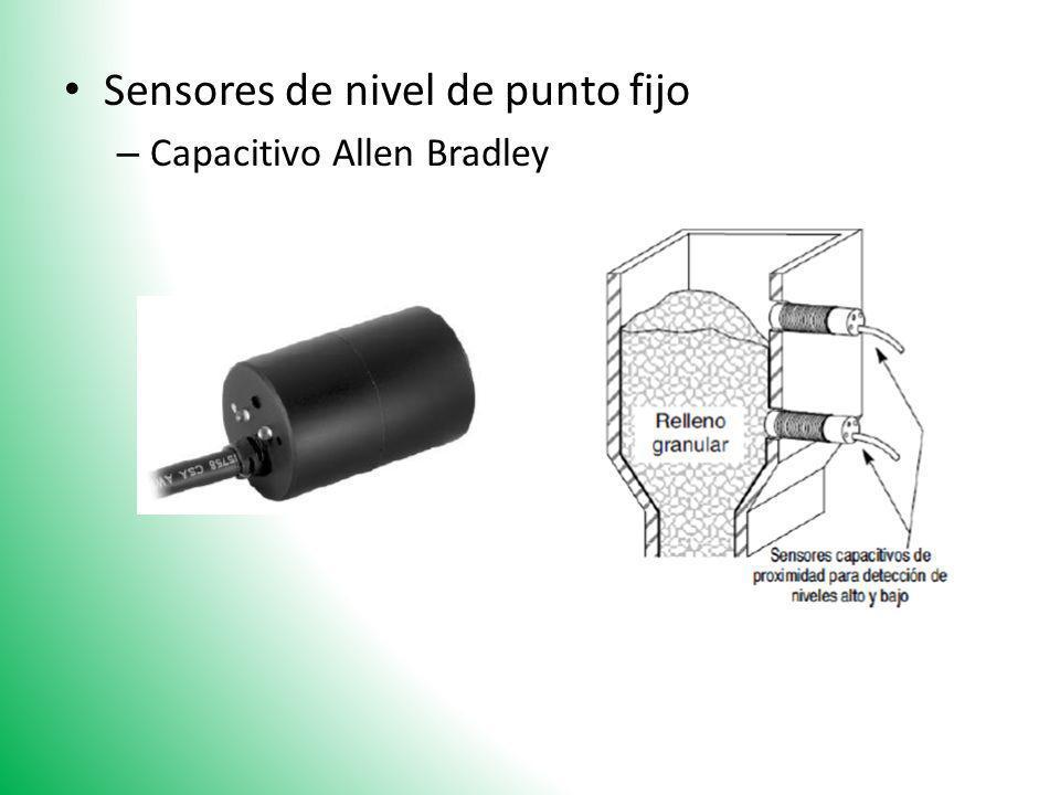 Sensores de nivel de punto fijo – Capacitivo Allen Bradley