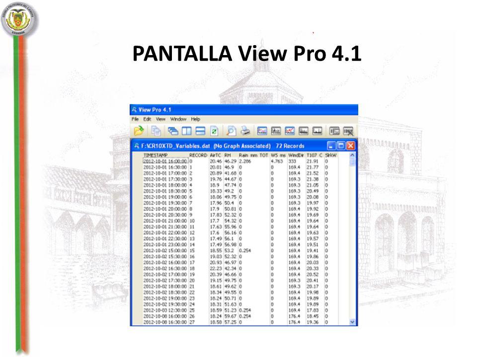 PANTALLA View Pro 4.1