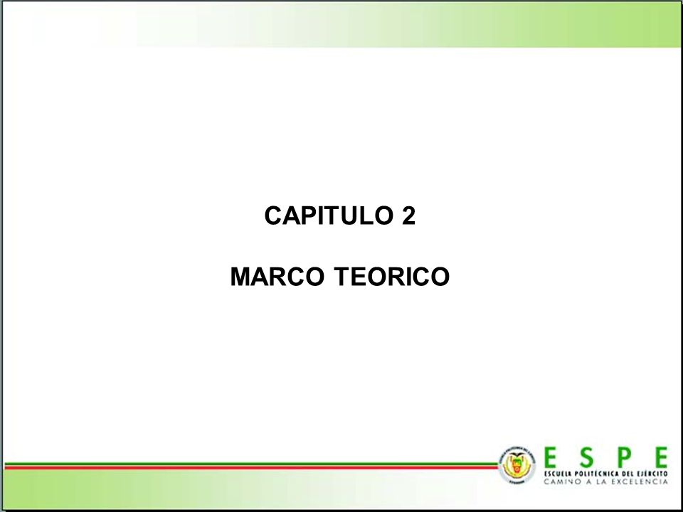 CAPITULO 2 MARCO TEORICO