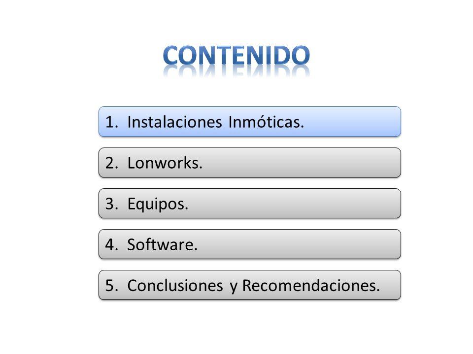 Estos sistemas incluyen aspectos como: Control de Iluminación.
