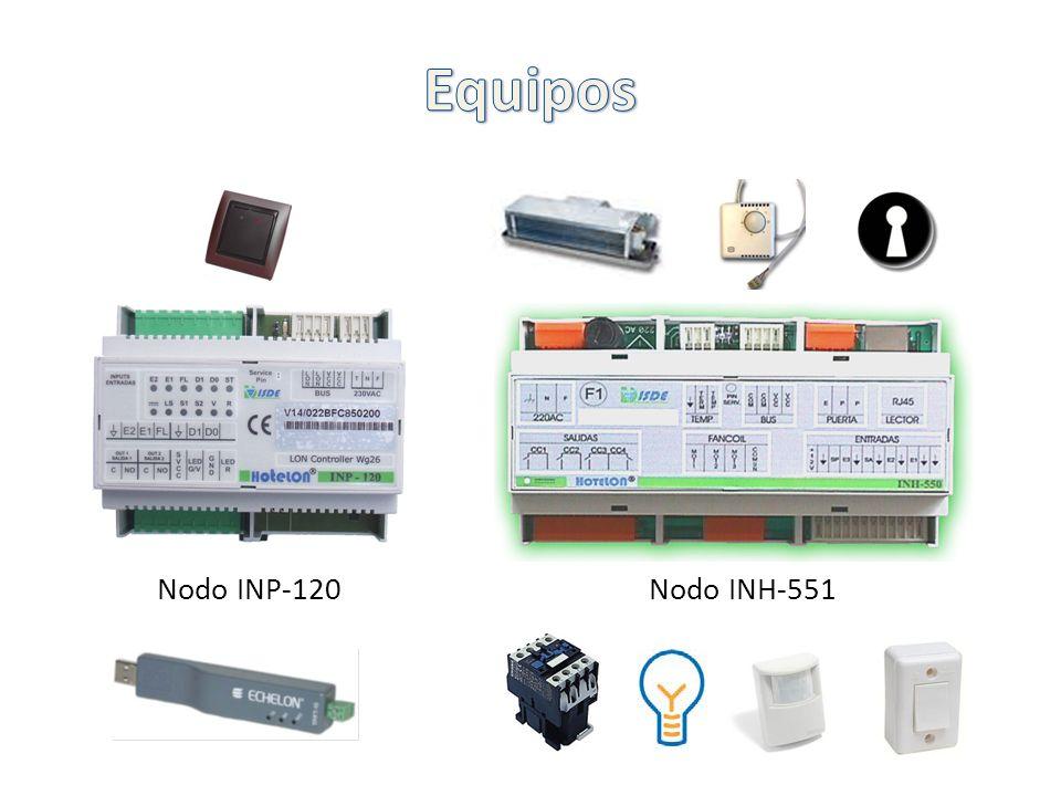 Nodo INP-120Nodo INH-551