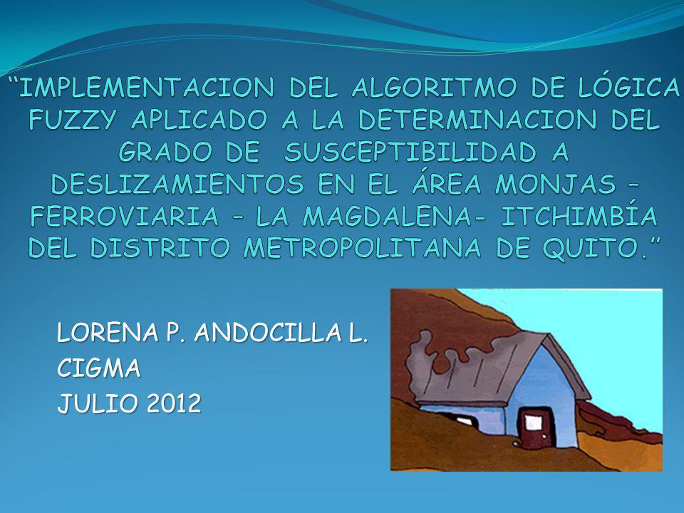 LORENA P. ANDOCILLA L. CIGMA JULIO 2012