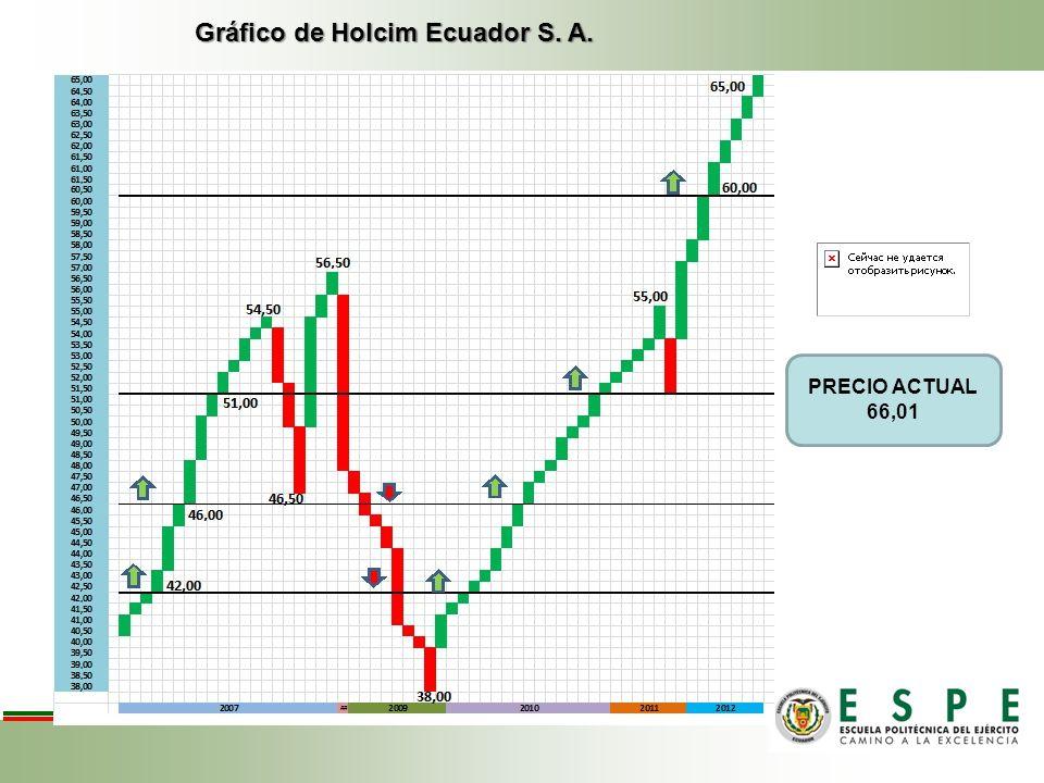Gráfico de Holcim Ecuador S. A. PRECIO ACTUAL 66,01