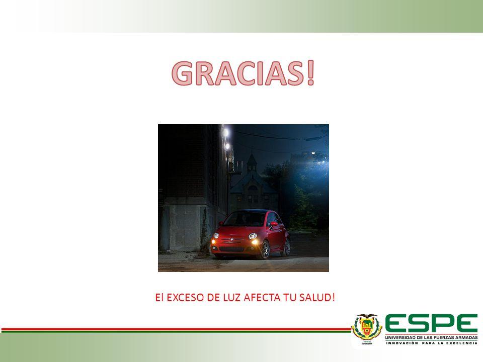 El EXCESO DE LUZ AFECTA TU SALUD!
