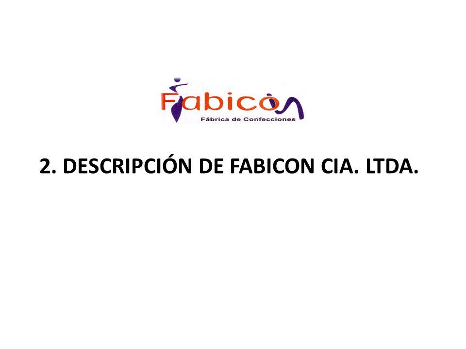La empresa Fabicon Cía.Ltda.