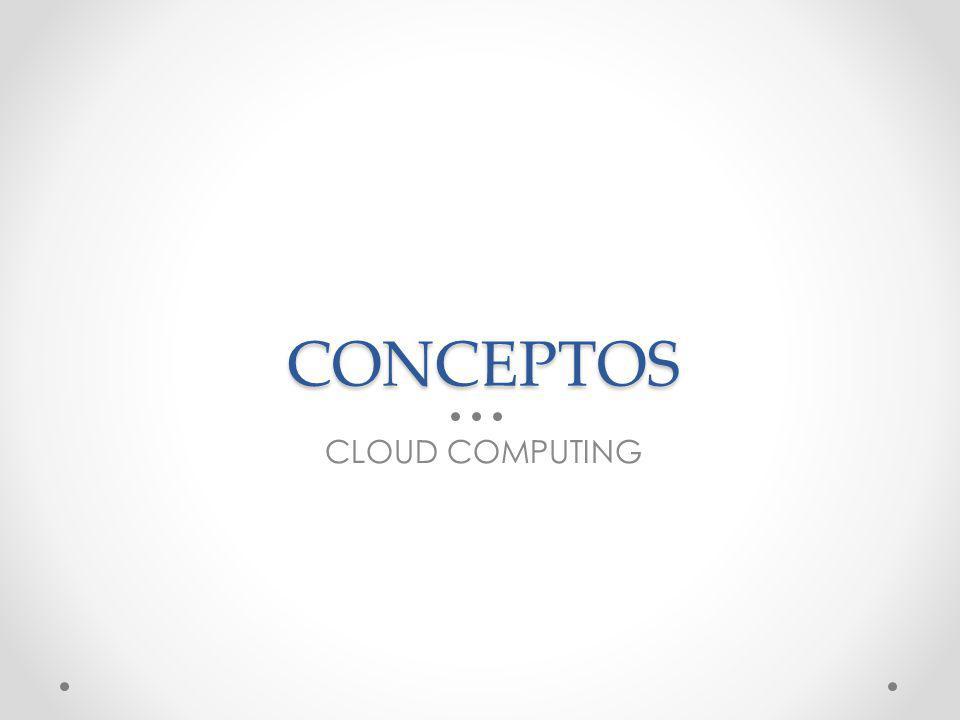 CONCEPTOS CLOUD COMPUTING