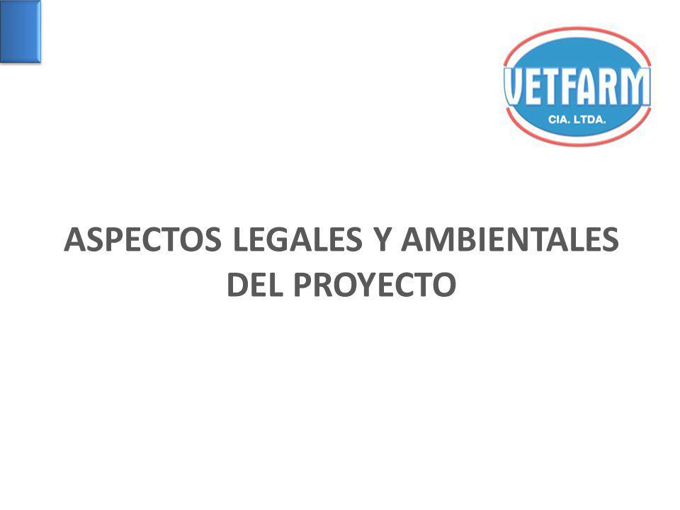 ASPECTOS LEGALES Y AMBIENTALES DEL PROYECTO