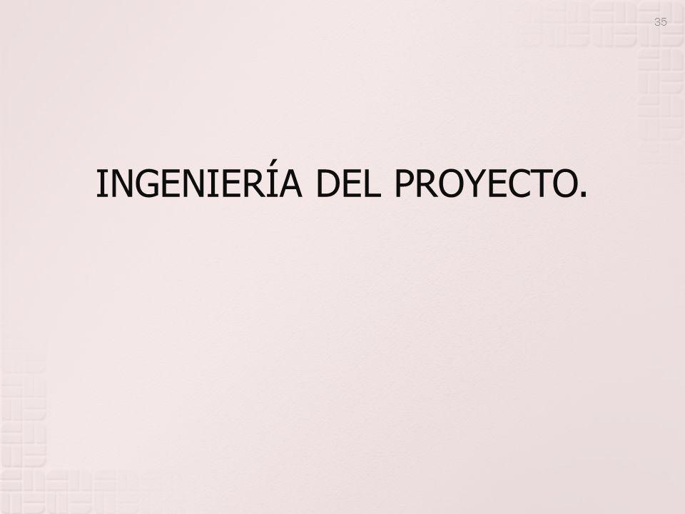 INGENIERÍA DEL PROYECTO. 35