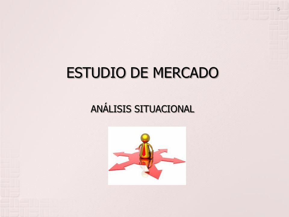 ESTUDIO DE MERCADO 5 ANÁLISIS SITUACIONAL