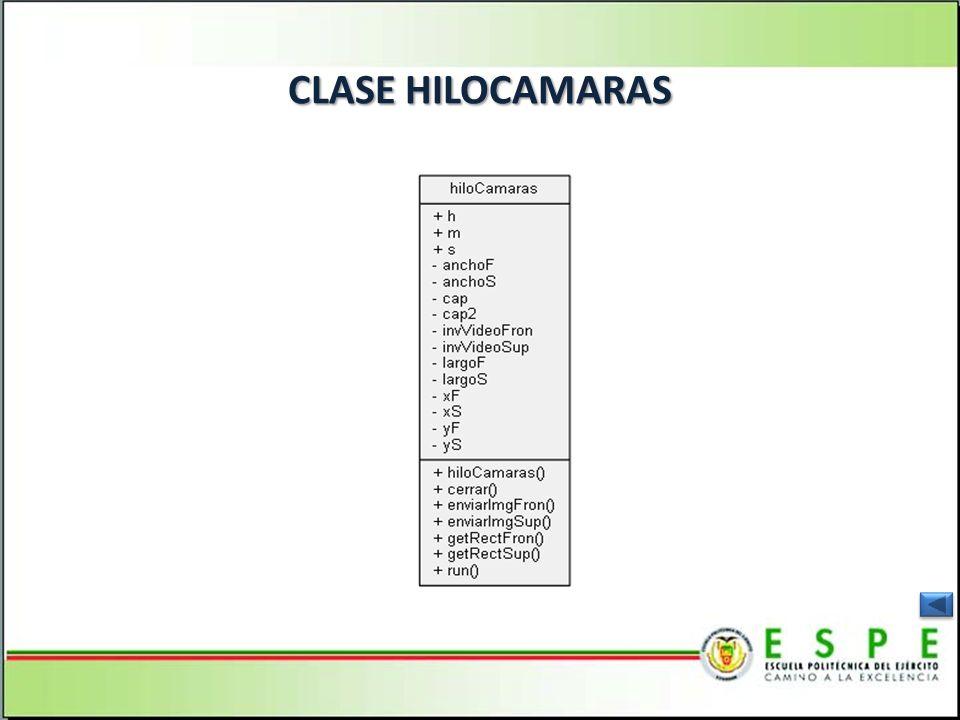CLASE HILOCAMARAS