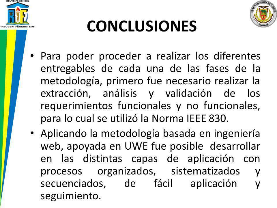 Para poder proceder a realizar los diferentes entregables de cada una de las fases de la metodología, primero fue necesario realizar la extracción, an