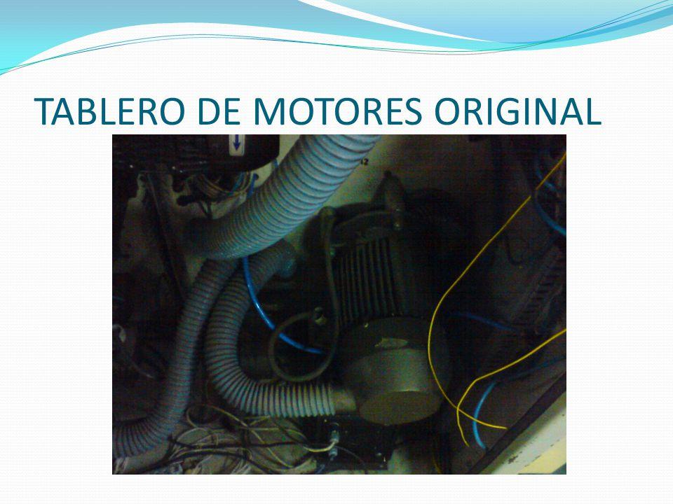 TABLERO DE MOTORES ORIGINAL