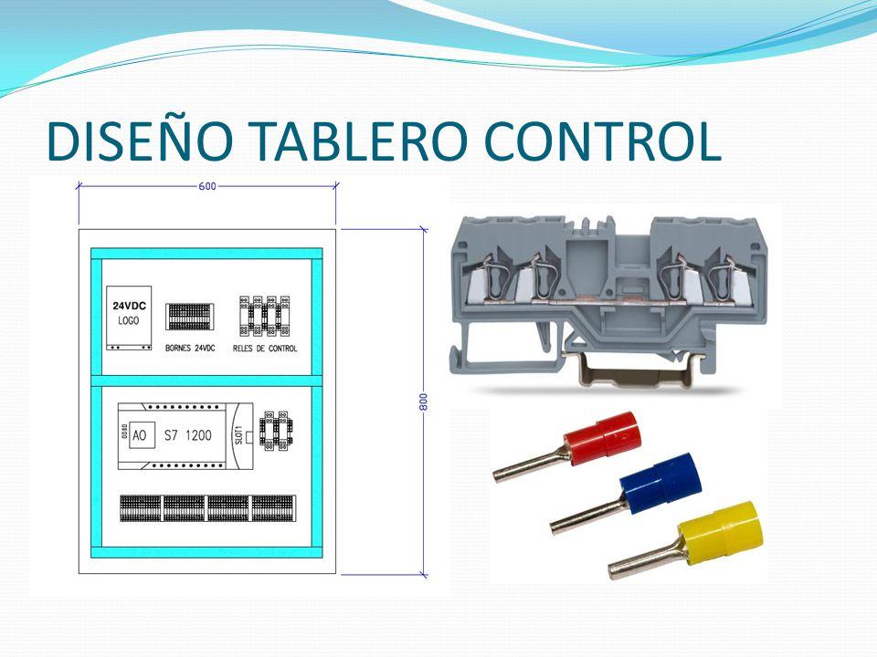 DISEÑO TABLERO CONTROL