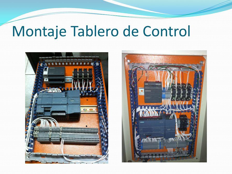 Montaje Tablero de Control