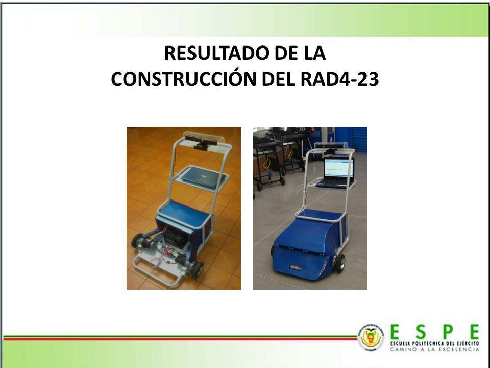 RESULTADO DE LA CONSTRUCCIÓN DEL RAD4-23