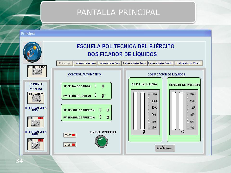 34 PANTALLA PRINCIPAL