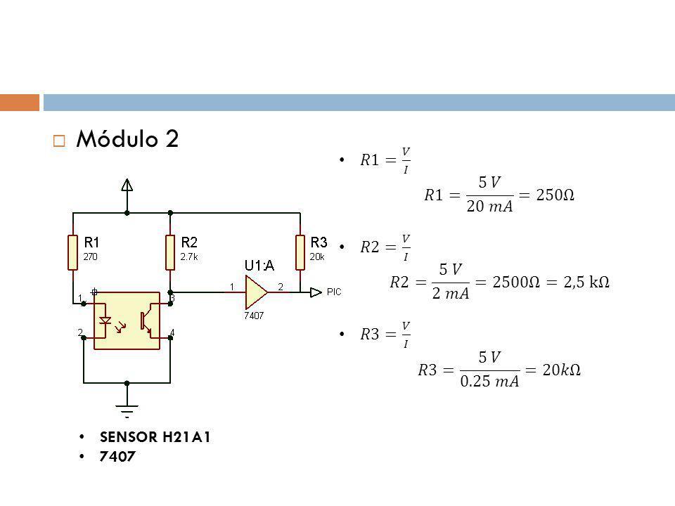 Módulo 2 SENSOR H21A1 7407
