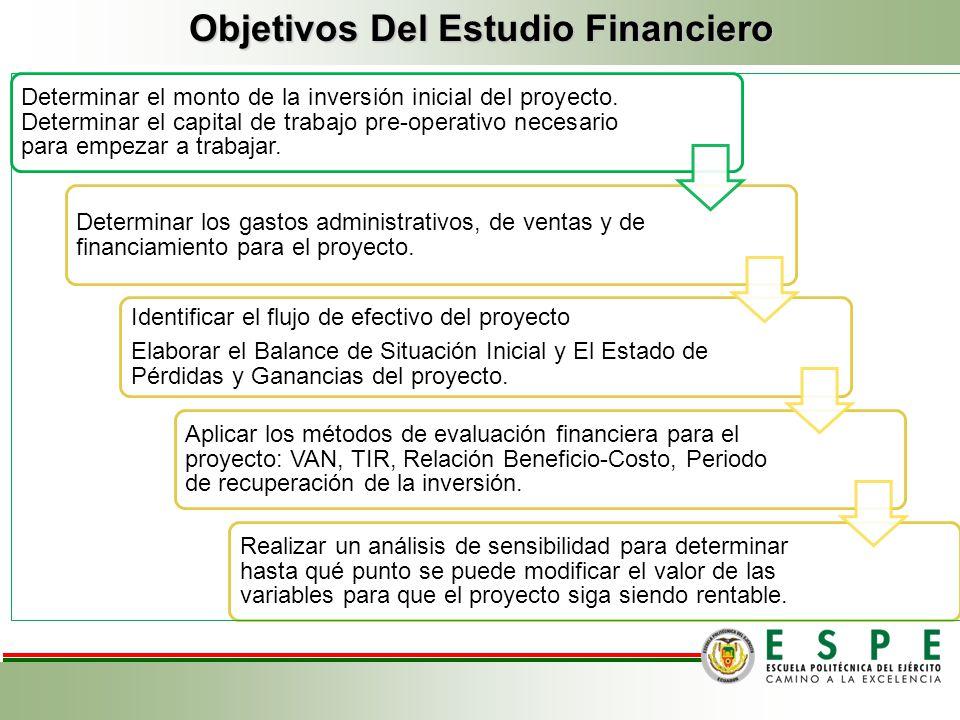CAPITULO III ESTUDIO FINANCIERO El marco financiero permite establecer los recursos que demanda el proyecto, los ingresos y egresos que generará y la
