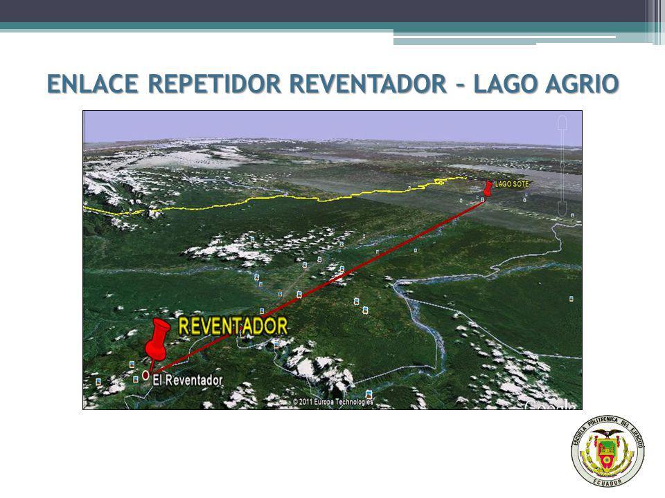 ENLACE REPETIDOR REVENTADOR – LAGO AGRIO