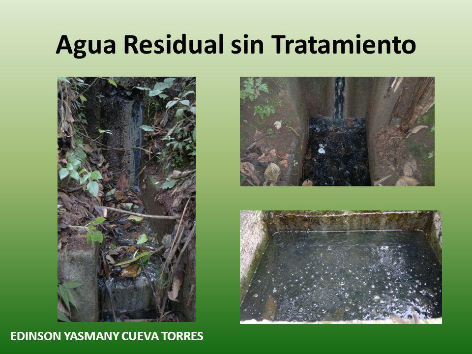 Agua Residual sin Tratamiento EDINSON YASMANY CUEVA TORRES