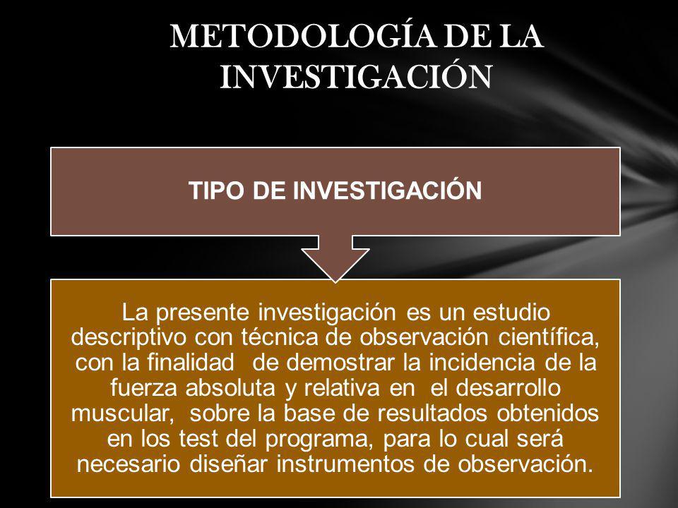 La presente investigación es un estudio descriptivo con técnica de observación científica, con la finalidad de demostrar la incidencia de la fuerza ab