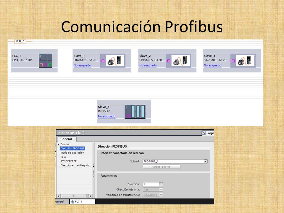 Comunicación Profibus
