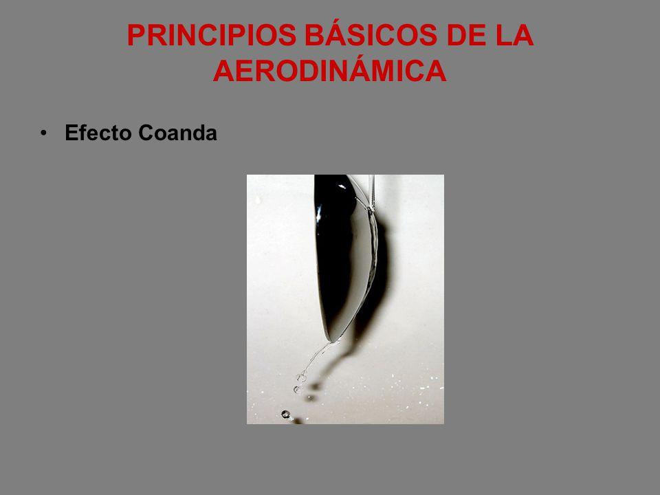 PRINCIPIOS BÁSICOS DE LA AERODINÁMICA Efecto Coanda