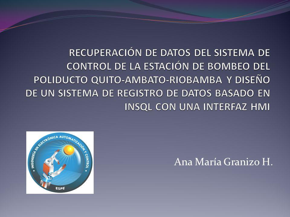 Ana María Granizo H.