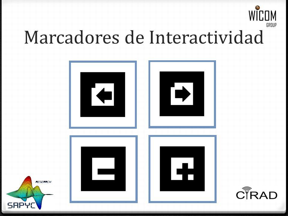 Marcadores de Interactividad