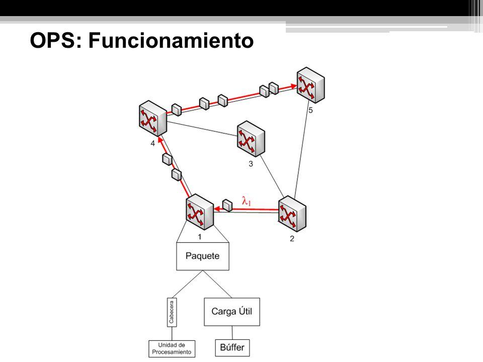 Ventajas: Modelo de conmutación extremadamente flexible, permite la multiplexación estocástica del tráfico.