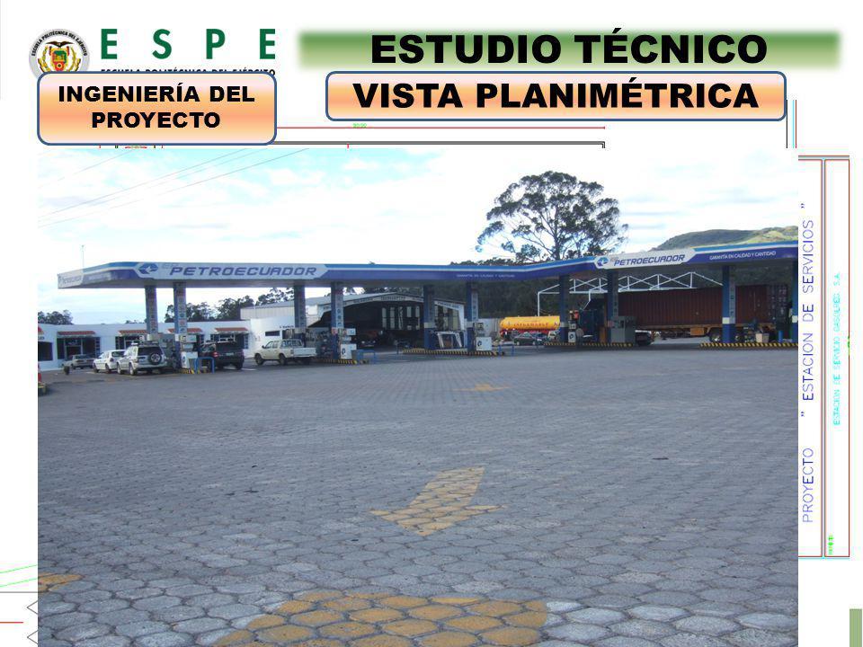 ESTUDIO TÉCNICO VISTA PLANIMÉTRICA INGENIERÍA DEL PROYECTO