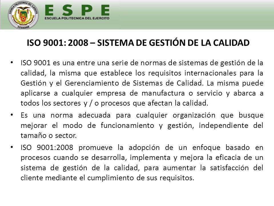 ISO 14001 - SISTEMA DE GESTIÓN AMBIENTAL La norma ISO 14001 contiene los elementos centrales para un efectivo Sistema de Gestión Ambiental.