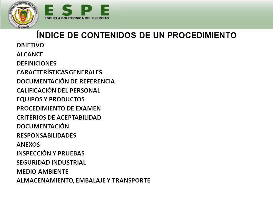 IDENTIFICACIÓN DEL REGISTRO CONTENIDO DEL REGISTRO RESPONSABLES DEL REGISTRO ÍNDICE DE CONTENIDOS DE UN REGISTRO