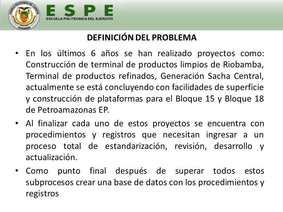 PROBLEMAS ENCONTRADOS EN PROCEDIMIENTOS Y REGISTROS 1.Desactualización de documentos.