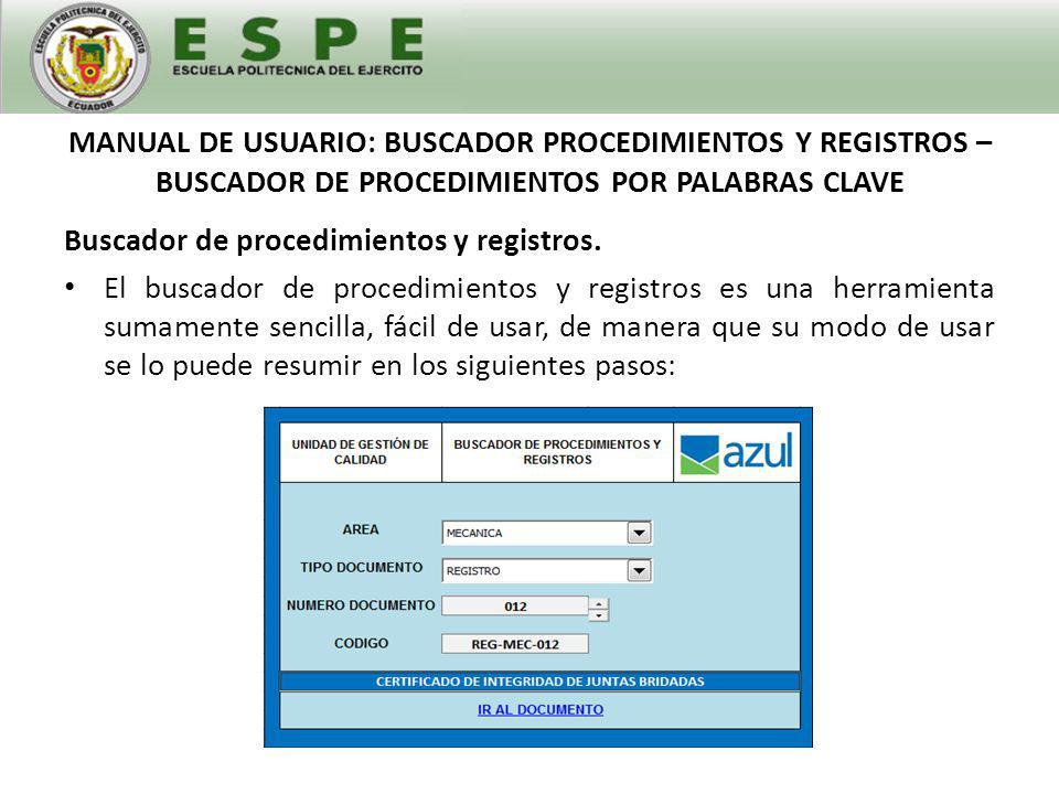 Buscador de procedimientos y registros.1.