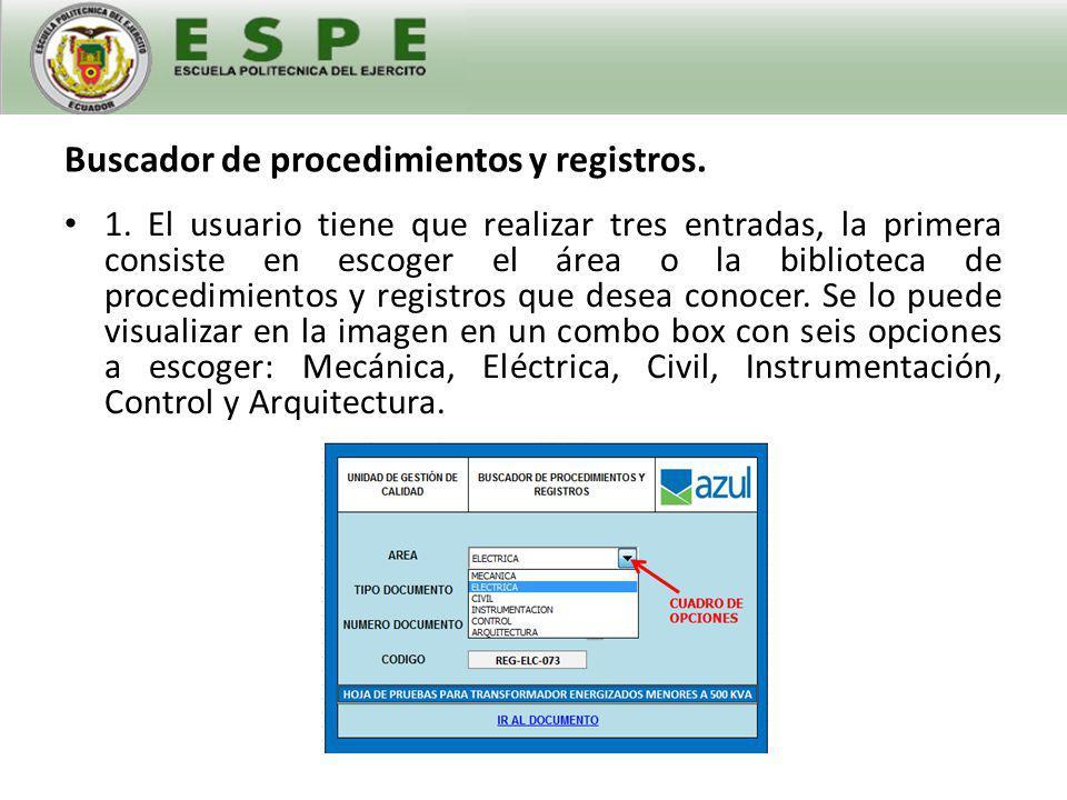 Buscador de procedimientos y registros.2.