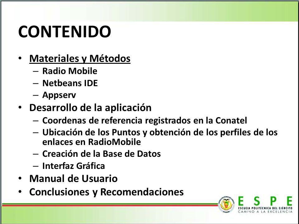 Radio Mobile Creado en 1998 y mantenido desde entonces por el ingeniero y radioaficionado canadiense Roger Coudé Utiliza datos digitales de elevación del terreno para generar un perfil del trayecto entre un emisor y un receptor Utiliza el algoritmo de cálculos de propagación Longley-Rice también conocido comoIrregular Terrain Model o ITM.