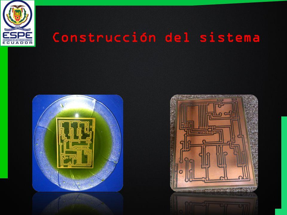 Construcción del sistema