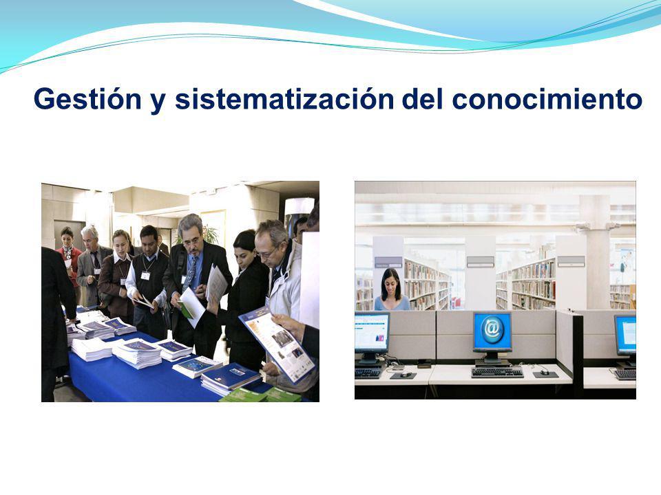 Proyecto financiado por la UE Gestión y sistematización del conocimiento