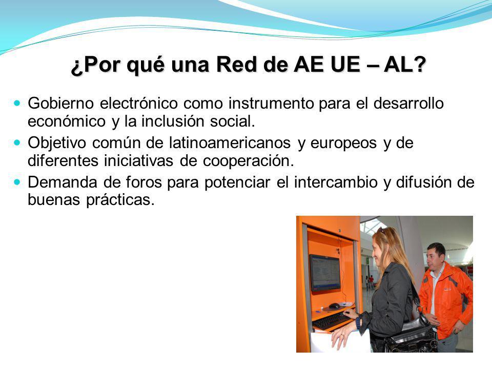 ¿Por qué una Red de AE UE – AL.