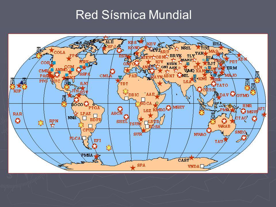 Con los datos de los tiempos de llegada de las distintas ondas sísmicas procedentes de un terremoto a cada una de las estaciones de la red se obtiene