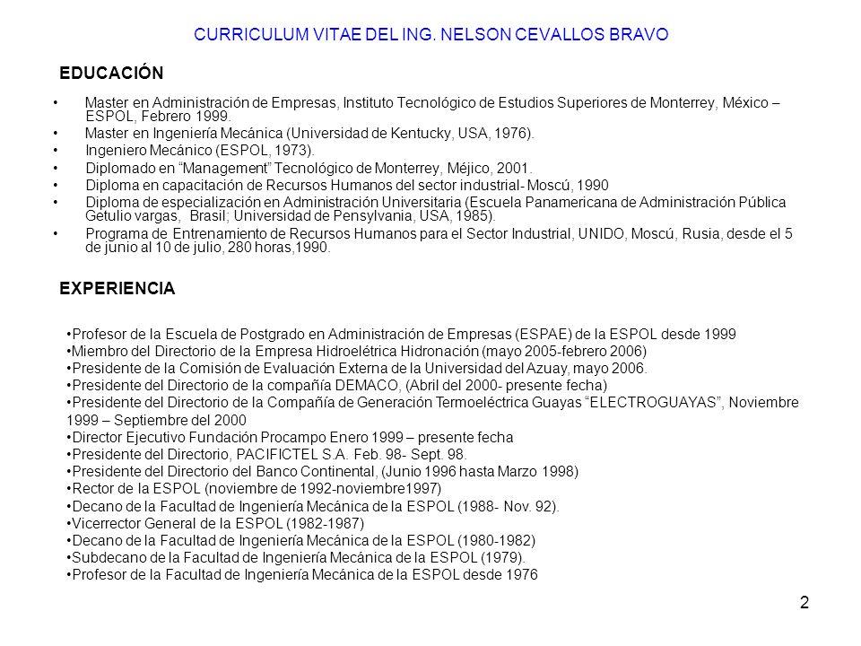 403 CARACTERISTICAS DE UN SISTEMA EFECTIVO DE CONTROL Precisión Oportuno Económico Flexible.