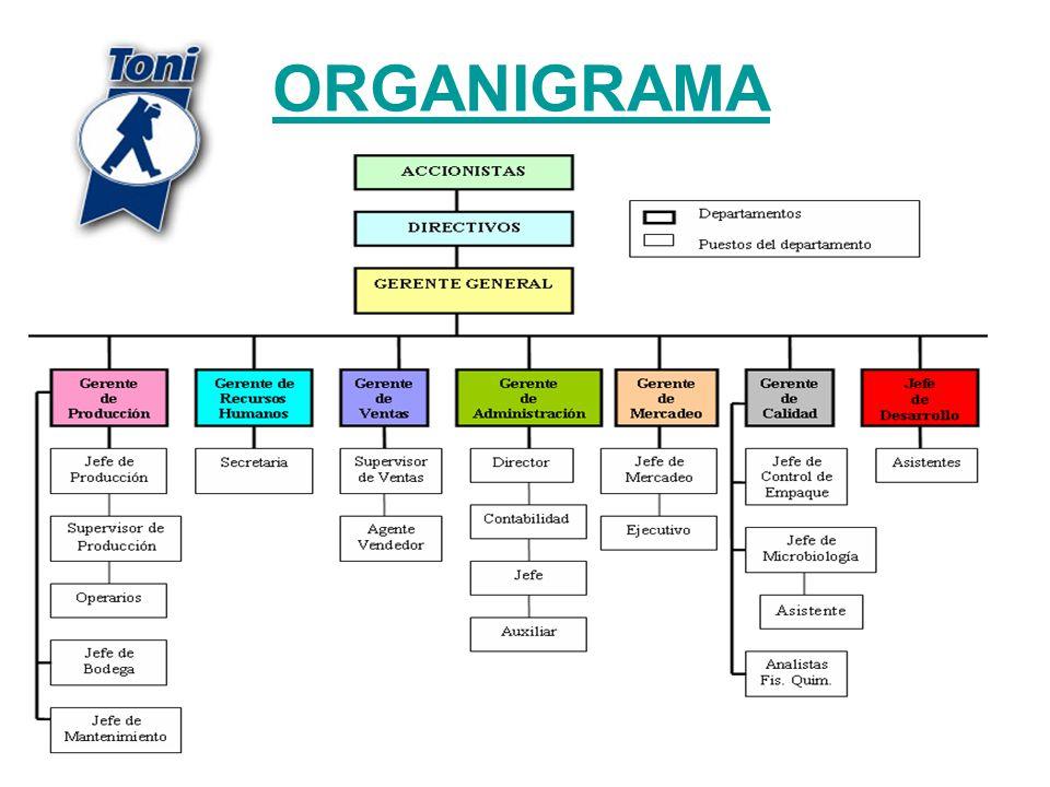 303 ORGANIGRAMA