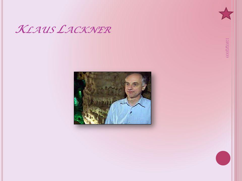 K LAUS L ACKNER 13/02/2009