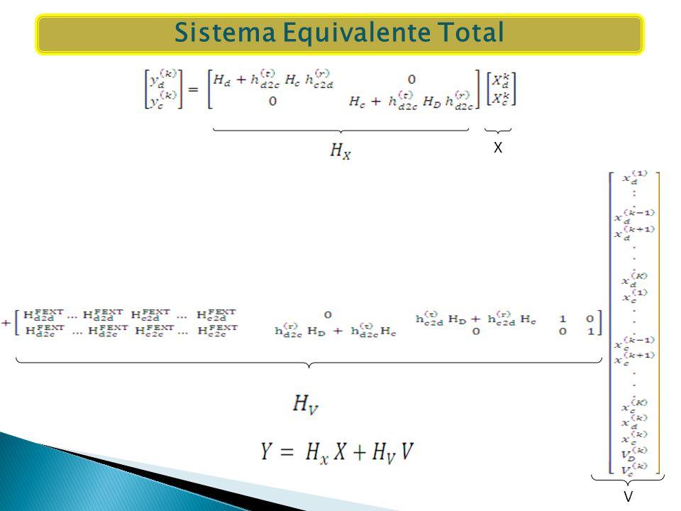 Sistema Equivalente Total V X