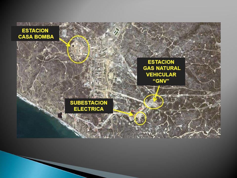 ESTACION CASA BOMBA ESTACION GAS NATURAL VEHICULAR GNV SUBESTACION ELECTRICA