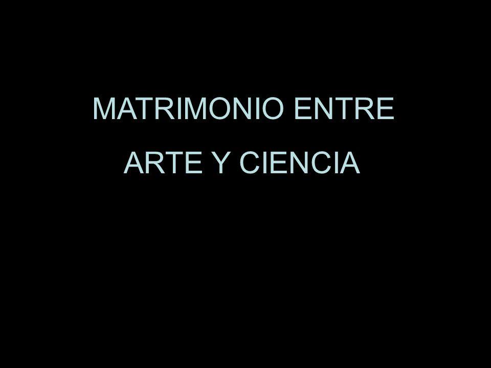 MATRIMONIO ENTRE ARTE Y CIENCIA