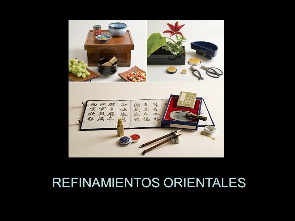 REFINAMIENTOS ORIENTALES
