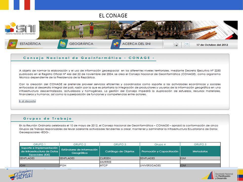 EL CONAGE
