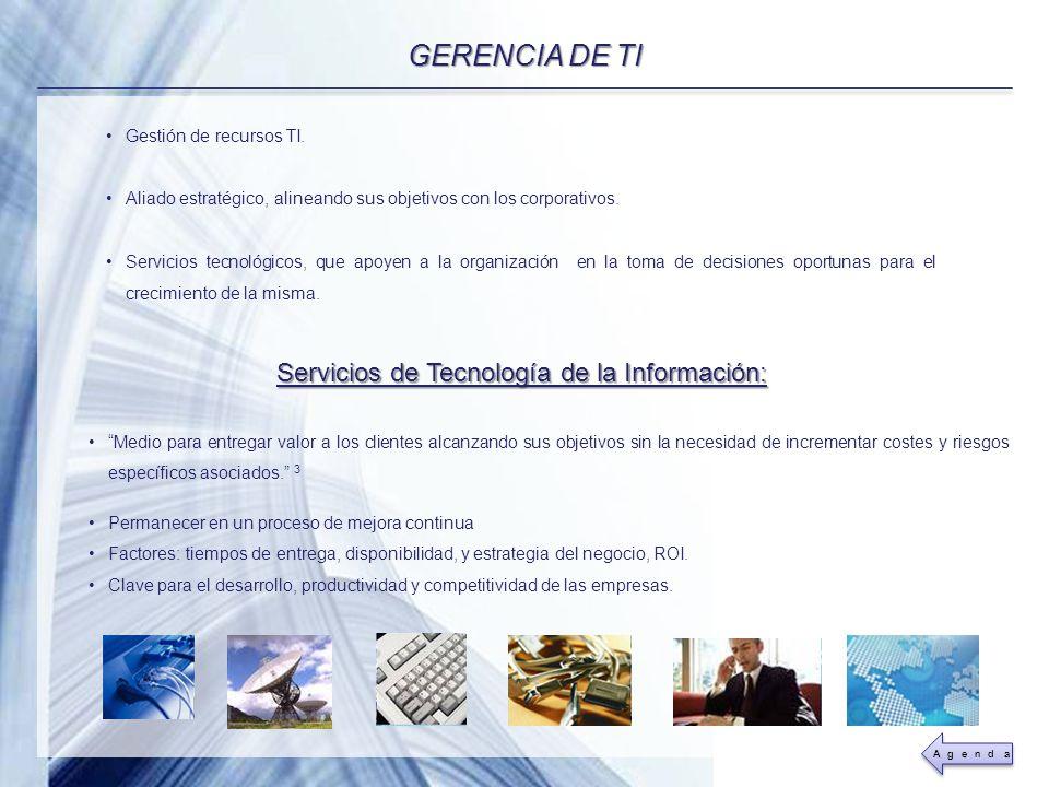 Powerpoint Templates Page 11 Servicios de Tecnología de la Información: Medio para entregar valor a los clientes alcanzando sus objetivos sin la neces
